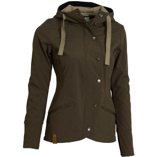 Softshellová bunda Spectacular Ladies´ Softshell Brown 1739a3c9702