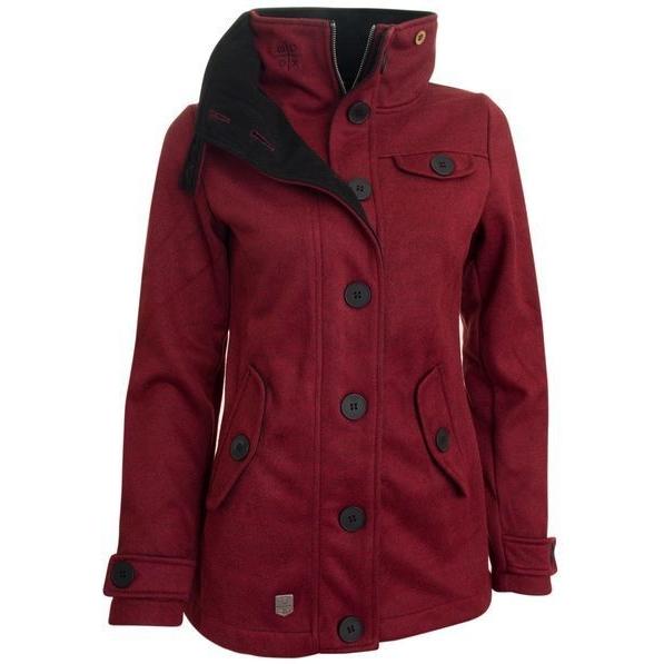 Woolshell Ladies´ Jacket Red