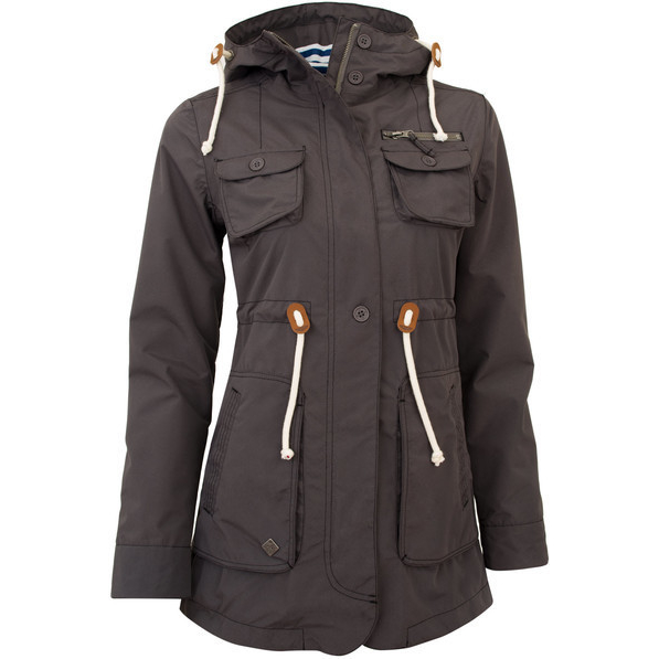 Větrovka Drizzle Parka Ladies´ Grey