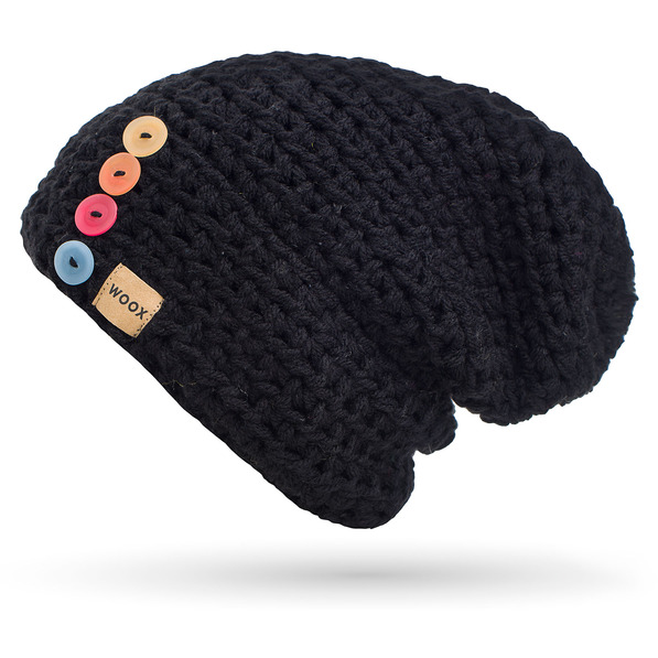 Čepice Night Button Beanie