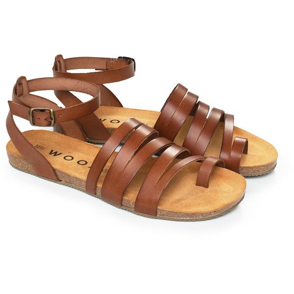 Levně Dámské sandály Aesta Fuscus
