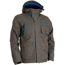 Twill Mens´ Jacket Grey
