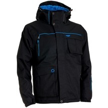 Twill Mens´ Jacket Black