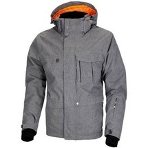 Twill Men´s Jacket Grey VOL II