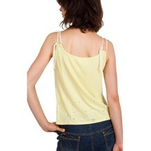 Top Flos Vest Yellow