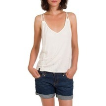 Top Flos Vest White