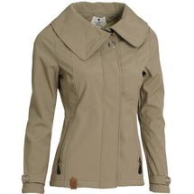 Softshellová bunda Advolvit Ladies´ Softshell Beige