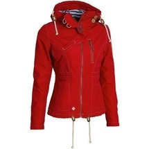 Větrovka Drizzle Jacket Ladies´ Red