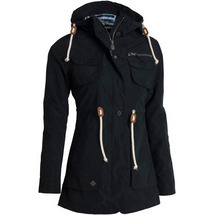 Větrovka Drizzle Parka Ladies´ Black